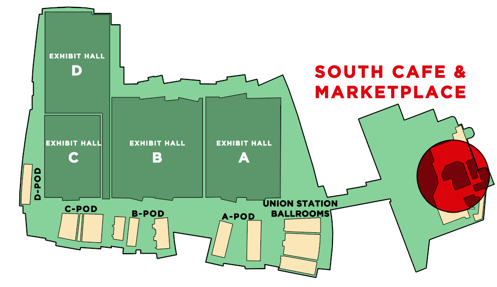MAPSOUTHCAFE1 Greater Columbus Convention Center